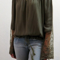 Mystic Sleeve Drama Top