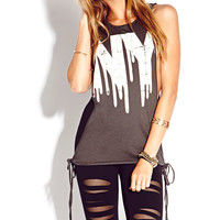 Dripping NY Muscle Tee