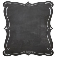 4 Fancy Frame Chalkboard Stickers For Scrapbooking, Packaging, Cards, Crafts