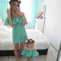Family Wedding Matching Outfits Clothes