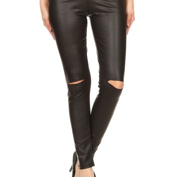 Foxy Faux Leather Leggings