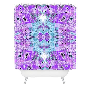 Ingrid Padilla Flora Violet Shower Curtain