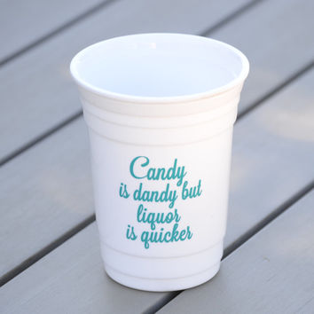 Party cup | Reusable solo cup with drinking quote | Funny quote plastic party cup