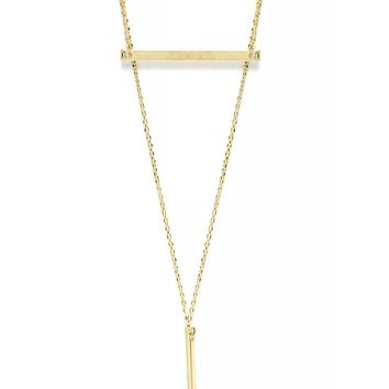 Drop Me Off at the Bar Necklace - Gold