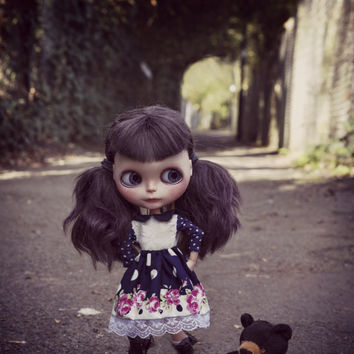 Cute Long Sleeve Floral and lace Blythe dress