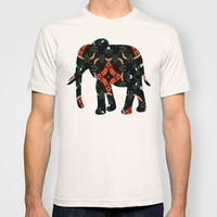 Tribal Dance  T-shirt by Louisa Catharine Design