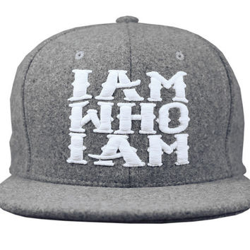 I AM WHO I AM - GREY