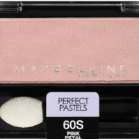 Maybelline New York Expert Wear Eyeshadow Singles, Perfect Pastels 60s Pink Petal, 0.09 Ounce