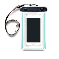 WATERPROOF iPHONE CASE - Universal Waterproof Phone Pouch - Anti-Shock/Anti-Slip-High Quality. Certified IPX8. Fits Most Phones 2.76in x 5.9in (7cm x 15cm). Waterproof bag for iphone 4,5,6 (6 plus), Samsung Galaxy S3, S4, S5, Note 3, LG G2, Nokia 1020, Nex
