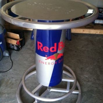 RED BULL ENERGY DRINK PUB BAR TABLE- RARE- ONLY GIVEN TO DISTRIBUTERS - NEW L@@K