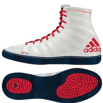 ADIDAS ADIZERO VARNER WRESTLING SHOES - WHITE
