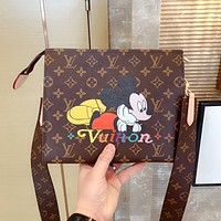 LV x DISNEY joint graffiti wash bag shoulder bag crossbody bag