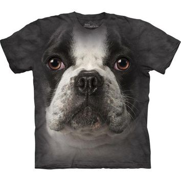 DCCKU3R French Bulldog Face T-Shirt