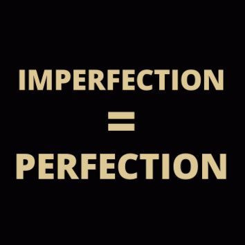 IMPERFECTION = PERFECTION: SarahBe Designs
