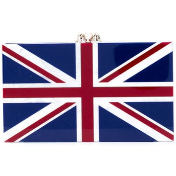 Charlotte Olympia English Flag Clutch - Farfetch