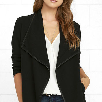 Jack by BB Dakota Melbourne Black Jacket