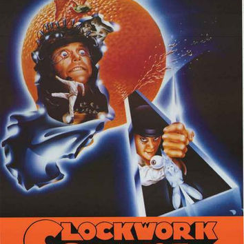 A Clockwork Orange Movie Art Poster 24x33
