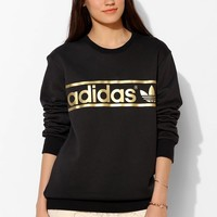 adidas Mirror Trefoil Logo Pullover Sweatshirt - Urban Outfitters