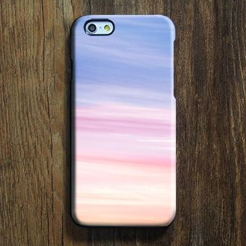 Pink Sky iPhone 6s+ case iPhone 6 plus Blue iPhone 5S 5 iPhone 5C iPhone 4S/4 Case Clouds Samsung Galaxy S6 edge S6 S5 S4 S3 Note 3 Case 012-1