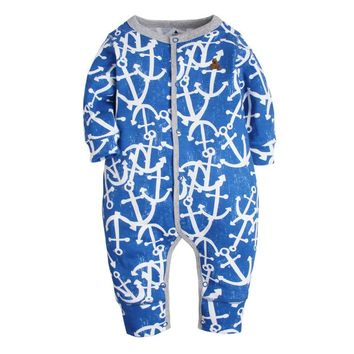2018 infants Baby girl clothes long sleeve romper newborn overalls baby boys pajamas cotton bebes cartoon clothing jumpsuit