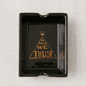 Trust Motto Ashtray | Urban Outfitters