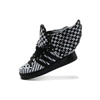 Adidas x Jeremy Scott JS OPART WINGS 2.0 OPART Black&White Men Women Sneaker