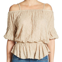 Free People Shades of Cool Blouse