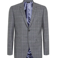 Paul Smith The Byard Checked Wool Blazer