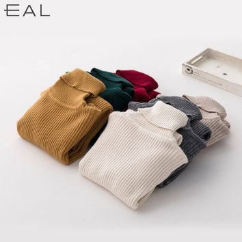 Sweater Winter Korean Knit Bottoming Shirt [6466180228]