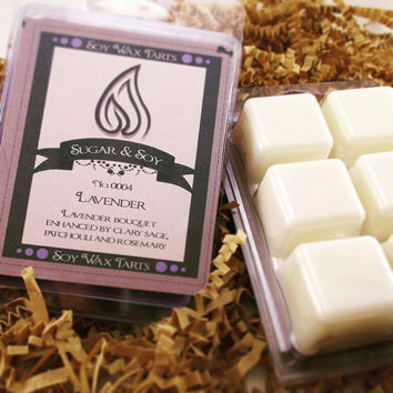 Lavender Wax Melts, Lavender Soy Waxtarts, Lavender Candle, Soy Waxmelts, Soy Wax tarts, Candle Gift Idea, Lavender Soy Wax Melts, Soy Melts