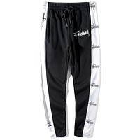 Stussy Edgy Simple Pants Trousers Sweatpants