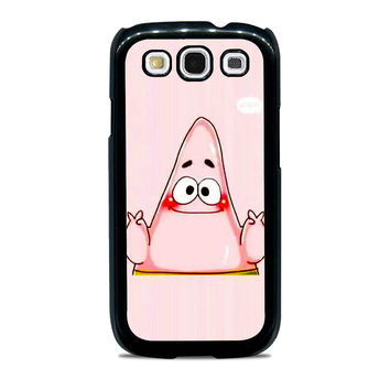 spongebob and patrick best friend 2 cartoon couple Samsung Galaxy S3 Case