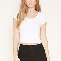 Scoop Neck Tee | Forever 21 - 2000153305