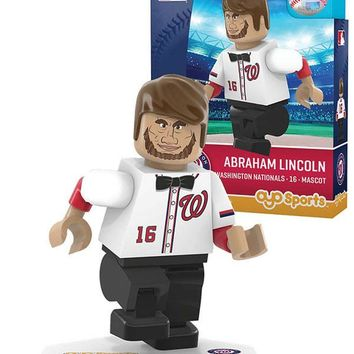 Washington Nationals ABE LINCOLN Mascot Limited Edition OYO Minifigure