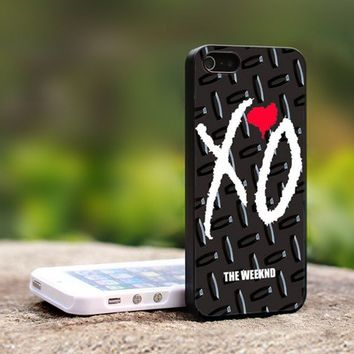 Xo Weeknd Logo - For iPhone 5 Black Case Cover
