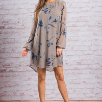 Beauty In Everything Dress, Cool Gray