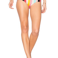 Solid & Striped The Brigitte Bikini Bottom in Spring Multi Stripe | REVOLVE