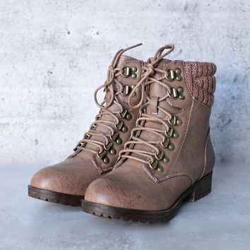 sierra falls boots - taupe