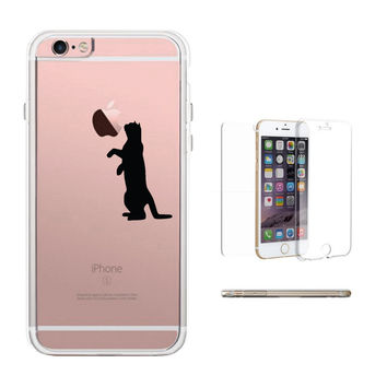 360° Full Protection Cat Clear Phone Case