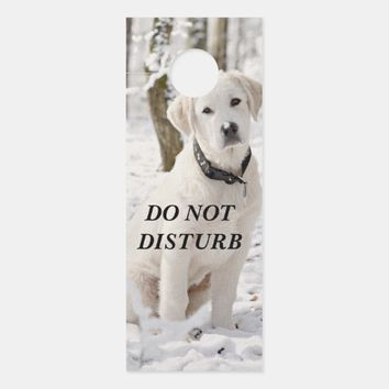 Beautiful White Pyrenees Door Hanger