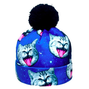 Space Cat Beanie