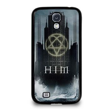 HIM BAND HEARTAGRAM Samsung Galaxy S4 Case Cover