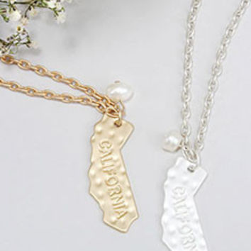 California State Necklace