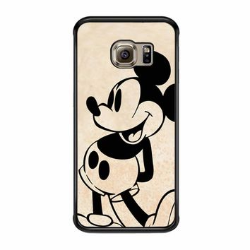Mickey Mouse Old Samsung Galaxy S6 Edge Case