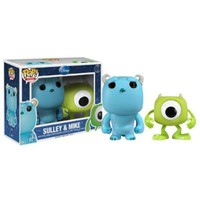 "Funko MIKE & SULLEY 2.5"" MINI POP VINYL FIGURE SET from MONSTERS, INC."