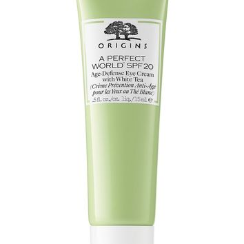 Origins A Perfect World™ SPF 20 Age-Defense Eye Cream with White Tea | Nordstrom