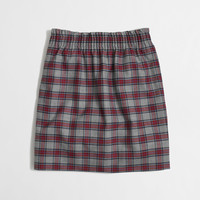 Factory pleated mini in plaid : Skirts   J.Crew Factory