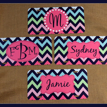 License Plate Car Tag Personalized Monogrammed Car Tag Car Accessories Gift Teacher Sweet 16 License Plates New Car
