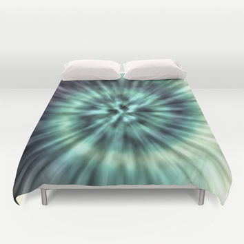 TIE DYE II Duvet Cover by Nika