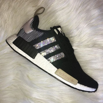 ADIDAS Women Running Sport Casual Shoes NMD Sneakers Shining B-MDTY-SHINING